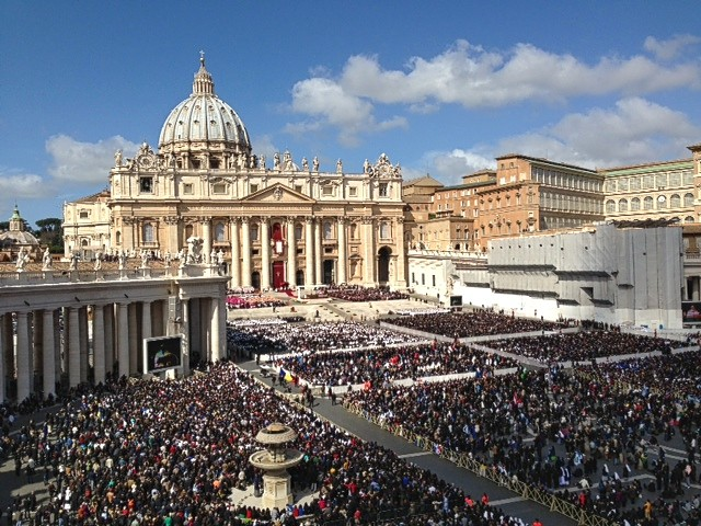 Pope Francis's inaugural Mass in St. Peter's Square